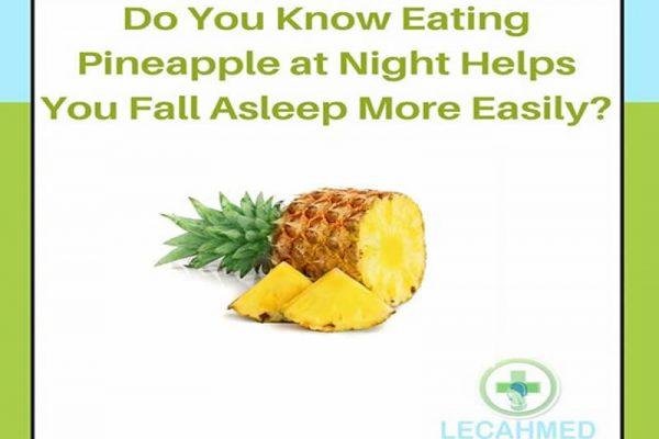 Eating Pineapple At Night
